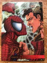 Marvel Flair Annual 1995 #61 Clash of the Spider-Men Single Card - $4.99