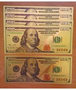 5 PACK - 24K .999 Pure Gold NEW SERIES $100 Dollar Bill Banknote - BU Co... - $9.99