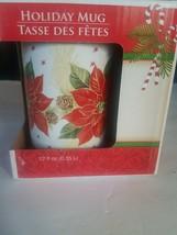 Holiday Mug 12 Fl Oz. Pointsetta - $11.76