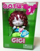 "New OUT OF THIS WORLD O.O.T.W. & BLIP TOYS ""GIGI""  ELECTRONIC TALKING DO... - $8.80"