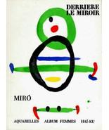 MIRO LITHOGRAPHS 1967 Joan Miró litógrafo JOAN MIRO litografías $ VERY R... - $192.76