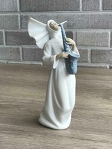 Lladro 01006404 Sister with Sax Porcelain Figurine Retired New  - $168.30