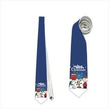 Necktie charlie snoopy christmas snowman - $22.00