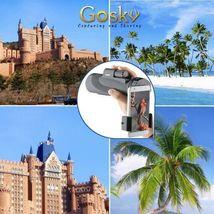 12X50 High Power Prism Monocular Scope, Smartphone Holder, & Handheld Tripod Kit image 8
