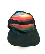 Gypsy And Lolo Trucker Hat Cap Horizon Art Snapback Black Love Nature Forever - $20.32