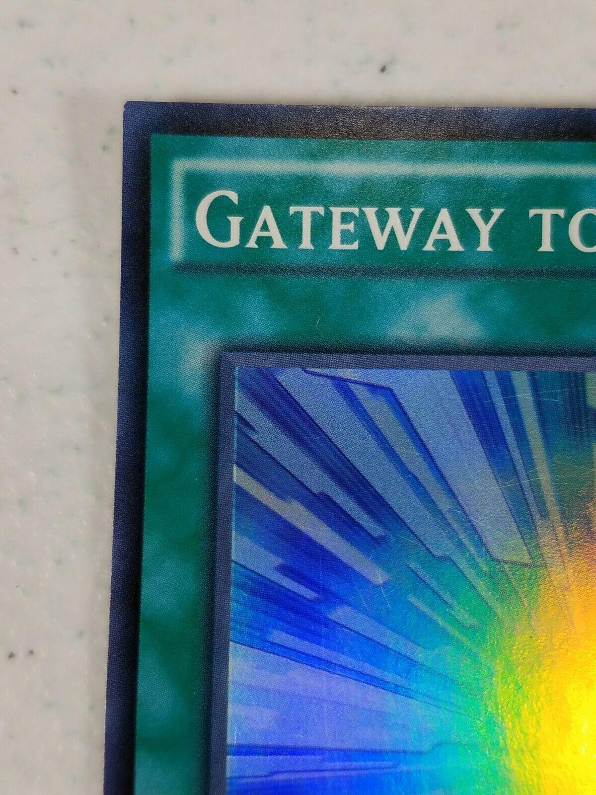 Yu-gi-oh! Trading Card - Gateway to Chaos - DOCS-EN057 - Super Rare - 1st Ed.
