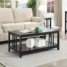 Mission Coffee Table 203382BL, Black Finish - $124.13 CAD