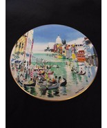 Vintage 1977 ROYAL DOULTON England Grand Canal Venice Plate Dong Kingman... - $23.00