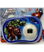 Marvel Avengers Assemble Blue Toy My First Camera with Flash New in pack... - $11.99