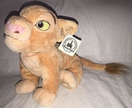 Disney Parks The Lion King Nala Plush Toy 15'' Female Lioness w/Tags - $16.82