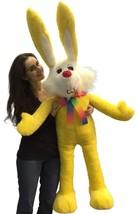 American Made Giant Stuffed Bunny 55 Inch Soft ... - $98.32