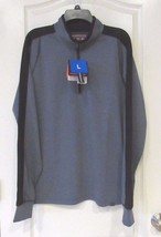 Hawke & Co. Pro Series 1/4 Zip  Pullover Men's Navy HTR Men's Sz. L-  NWT - $25.76