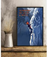 Mountain Are Calling And I Must Go Climbing, Art Prints Poster Home Deco... - $25.59+