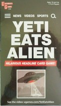 Yeti Eats Alien Headline Card Game by University Games for Ages 18+ - $7.99