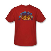 Charlies Angels T-shirt logo retro 70s 80s TV series red graphic tee CA113 image 1