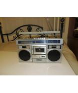 VINTAGE SANYO M-X310K AM/FM RADIO CASSETTE STEREO BOOMBOX - Works but ne... - $70.57