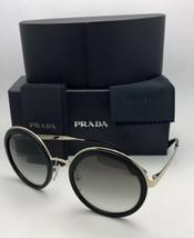 Prada Sonnenbrille Catwalk Spr 50t 1ab-0a7 54-23 Schwarz Gold Frame W/