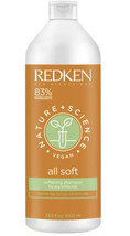 Nature Plus Science All Soft Shampoo by Redken for Unisex Vegan 33.8 oz ... - $22.08