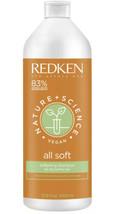 Nature Plus Science All Soft Shampoo by Redken for Unisex Vegan 33.8 oz Shampoo - $22.08
