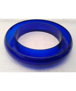 Cobalt Glass Posy / Pansy Ring Vase VERY RARE! - $1,485.00