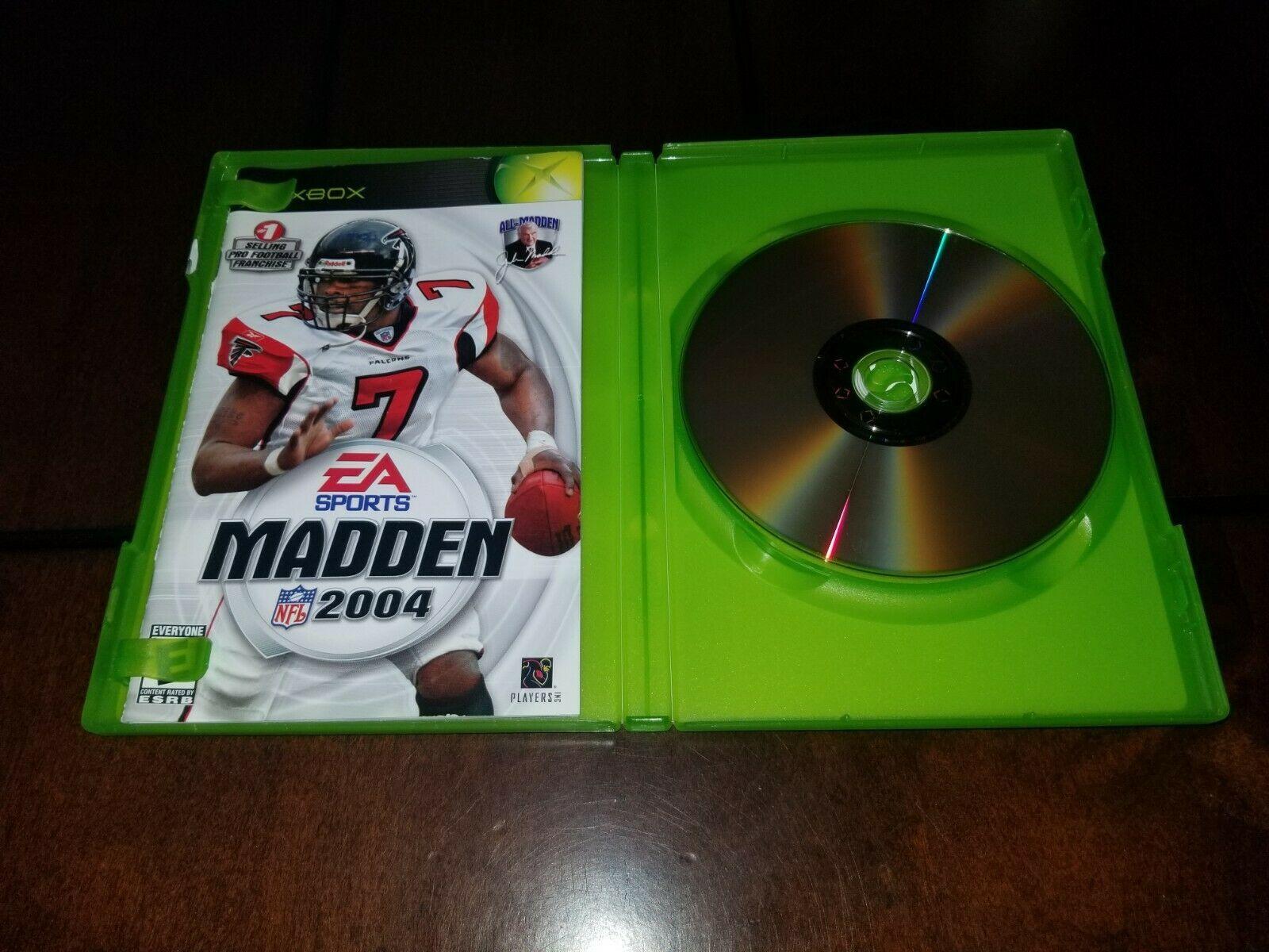 Madden NFL 2004 Microsoft Xbox EXMT **Inv02749**