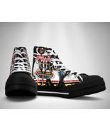 Motley Crue Canvas Sneakers Shoes - $29.99