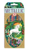 eeBoo Unicorn 12 Metallic Pencils - $8.99