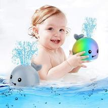 Baby Bath Toys, Whale Automatic Spray Water Bath Toy with LED Light - $28.99
