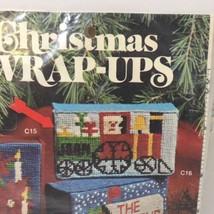 "Train Christmas Wrap-Ups Needlepoint Kit Banar Designs 4.75"" x 2.75"" - $14.50"