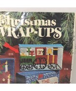 "Train Christmas Wrap-Ups Needlepoint Kit Banar Designs 4.75"" x 2.75"" - $14.50"