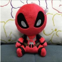 Plush Doll Deadpool Doll Soft Plush Toy Super Hero Deadpool - $5.99