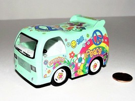 Kinsmart Green Peace Decal Dream Diecast Model Toy Car - $9.12 CAD