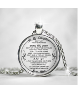 To My Daughter - Mom Necklace, Gift for Daughter from Mother Mama, Birth... - $31.63+
