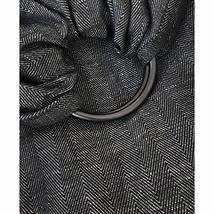 The Sling | Ring Sling Baby Carrier | Carbon + Smoke Grey