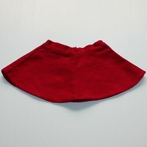 American Girl Molly McIntire Skating Outfit Red Flannel Skirt Only for Doll - $10.99