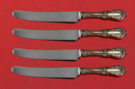 "Burgundy by Reed and Barton Sterling Silver Fruit Knife Set 4pc Custom 7"" HHWS - $279.00"