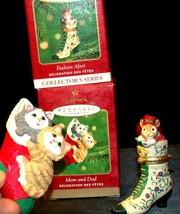 Hallmark Keepsake Ornaments Fashion Afoot & Mom & Dad Stocking AA-191792E Colle image 2
