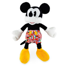 Disney Parks Epcot Flags Mickey Mouse 11inc Plush New with Tags - $25.86