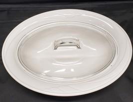 Corning Casual Elegance Calypso Embossed Pattern Oval Casserole Dish Wit... - $38.00