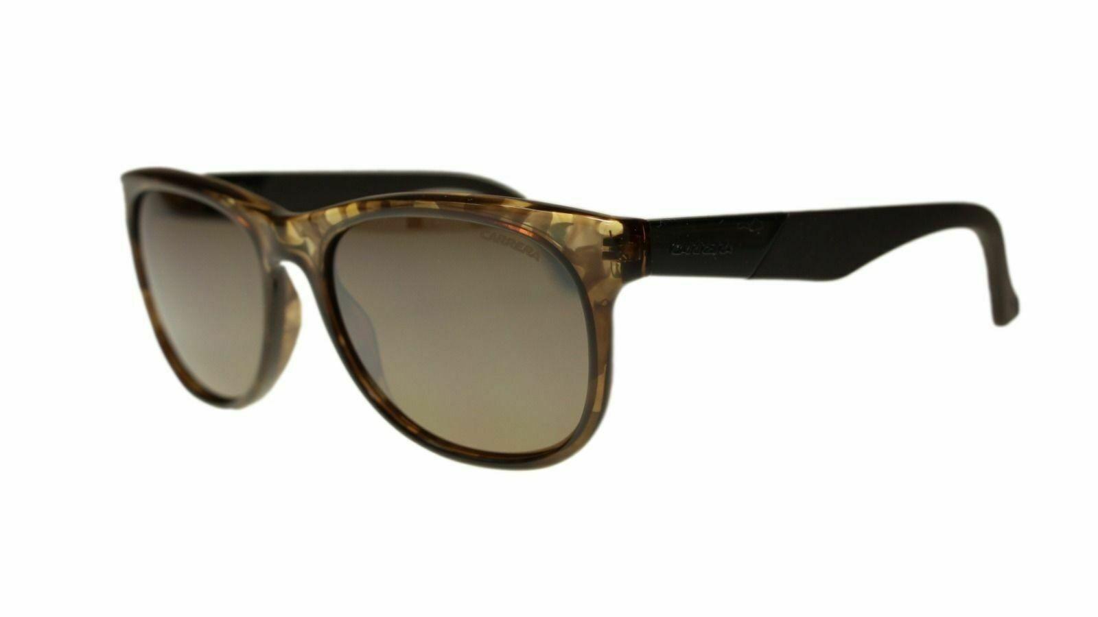 Carrera 5010 8GR 8HC 8HD 8HA Camo Rectangle Unisex Sunglasses 55mm Authentic - $40.00