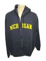 University of Michigan Adult Blue XL Hoodie Sweatshirt - $24.75