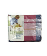Martha Stewart Everyday Madras Rose King Flat Sheet No Iron 200 Thread C... - $29.69