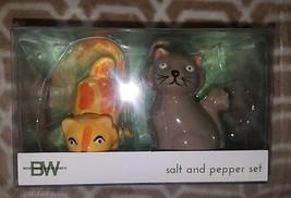 Boston Warehouse BW Frisky Business Cats Salt a... - $8.91