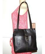 ❤️ Chocolate Colombian Premium Leather Zip Tote Shoulder Bag 11.5x4.5x11... - $33.24