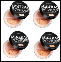 NEW GOSH Mineral Foundation Powder for Matt Finish Flowers Look Differen... - $15.49
