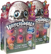 Hatchimals CollEGGtibles Season 4 Kid's Toys (2-Pack) Collectible Playse... - $14.00