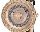 Versace VLC010016 V-metal Icon Gold IP Steel Ladies Watch - ₹180,259.17 INR