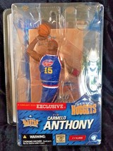 McFarlane NBA All Star Exclusive Carmelo Anthony Retro Jersey Denver Nug... - $23.36