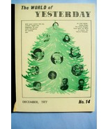 """""""The World of Yesterday"""" Magazine Featuring The Three Stooges - Issue #1... - $31.24"""