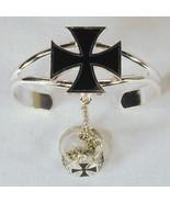 IRON CROSS SLAVE BRACELET jewelry women braclet #34 - $18.04
